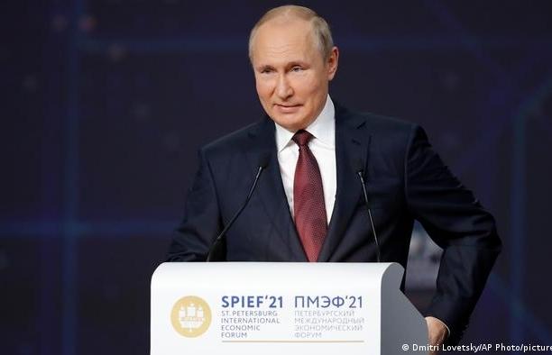 Tổng thống Putin: Nord Stream 2 đã hoàn thành, Gazprom sẵn sàng bơm khí