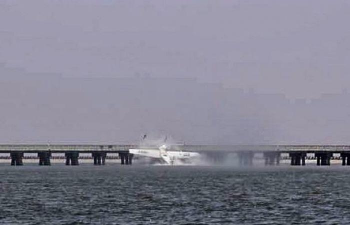 Trung Quốc: Thủy phi cơ đâm chân cầu, 5 người thiệt mạng