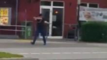 Những hình ảnh đầu tiên về vụ xả súng ở Munich