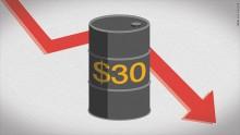 Giá dầu thế giới dần trở về mốc 40USD/thùng