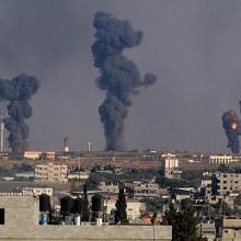 israel tan cong cac co so quan su o syria