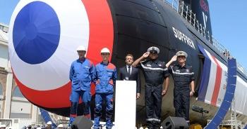 Pháp hạ thủy tàu ngầm hạt nhân mới