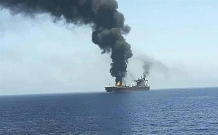 Tàu Israel bị tấn công trên Ấn Độ Dương