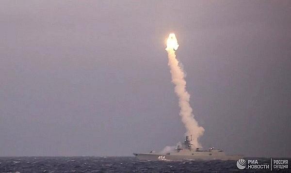 Nga bất ngờ thử nghiệm tên lửa siêu thanh Zircon