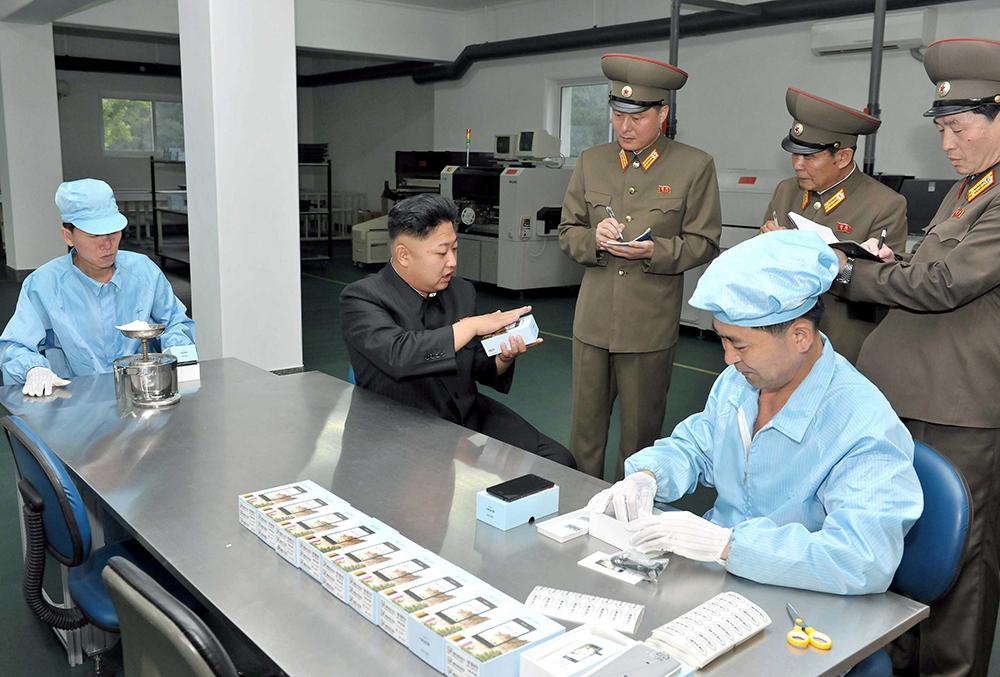 """Sắp có """"iPhone made in Triều Tiên""""?"""