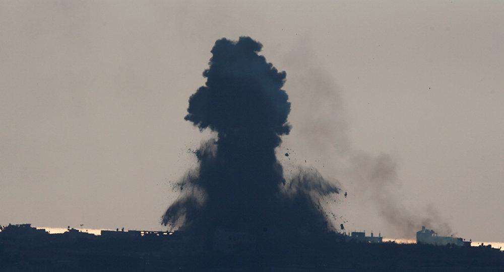 israel bat ngo tan cong hon 140 dia diem o dai gaza