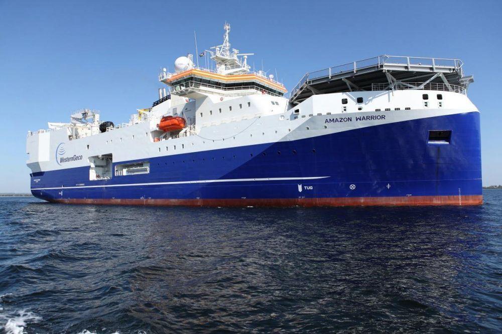Schlumberger thanh lý đội tàu thăm dò địa chấn