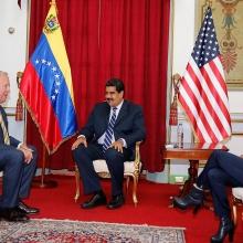 my va venezuela tiep xuc o muc rat cao