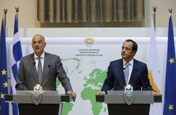 Hy Lạp và Síp muốn châu Âu phải cứng rắn hơn với Thổ Nhĩ Kỳ