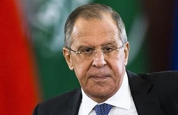 """Ngoại trưởng Nga: """"Mỹ không thấy xấu hổ khi công khai kêu gọi châu Âu ngừng hợp tác với Nga"""""""