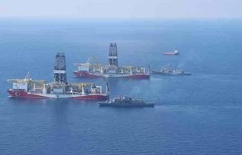 Châu Âu dọa bắt giữ tàu khoan của Thổ Nhĩ Kỳ