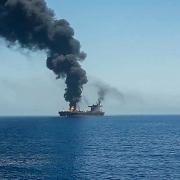 Tàu chở dầu Israel bị tấn công: Iran cảnh báo các hành động trả đũa
