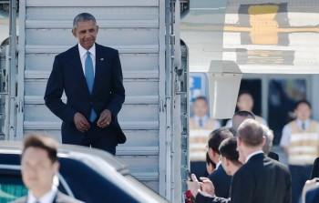 """[Chùm ảnh] Tổng thống Obama là người duy nhất bị Trung Quốc """"sỉ nhục"""" ở G20"""