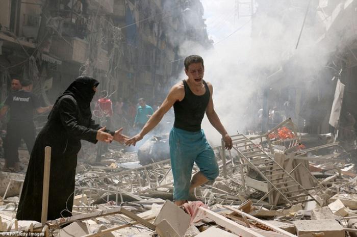 syria nong tren moi mat tran