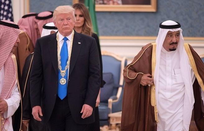 vua saudi arabia thao luan ve dau mo voi tong thong my