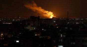 israel nem bom nhieu muc tieu cua hamas o gaza