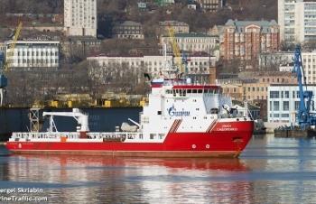 Tàu thứ 2 của Nga đến Đức để hoàn thành dự án Nord Stream 2