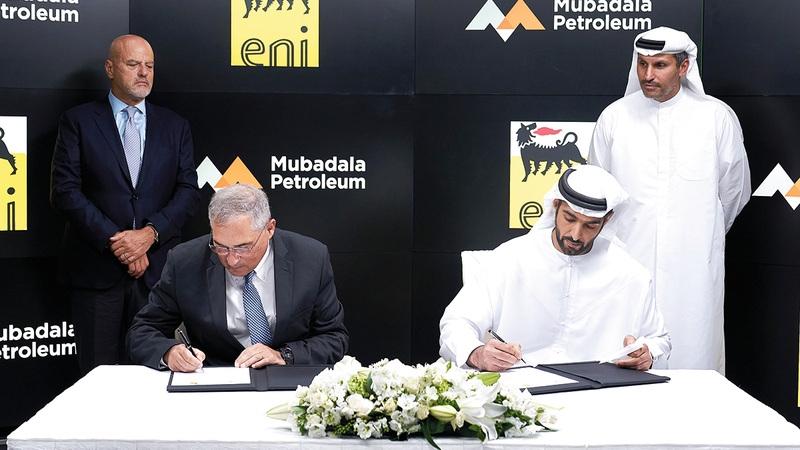 Eni và Mubadala Petroleum hợp lực giảm khí thải carbon trong lĩnh vực năng lượng