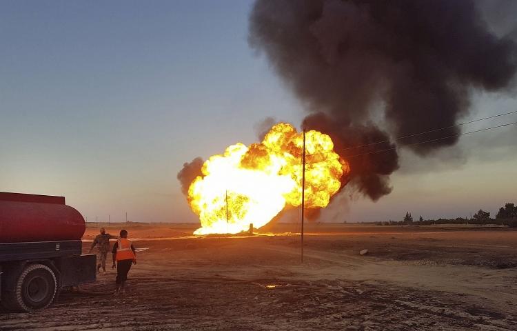 Syria: IS tấn công đường ống dẫn khí đốt