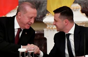 """Ông Erdogan gợi ý """"sáp nhập"""" Crimea vào Liên Hiệp Quốc"""
