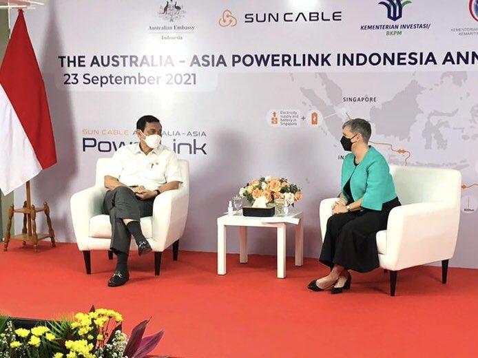 Indonesia cấp phép dự án tuyến cáp điện khổng lồ giữa Úc và Singapore