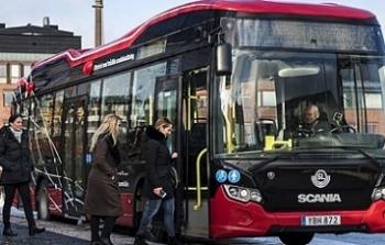 """Thành phố Amiens """"thay máu"""" giao thông công cộng bằng xe buýt điện"""