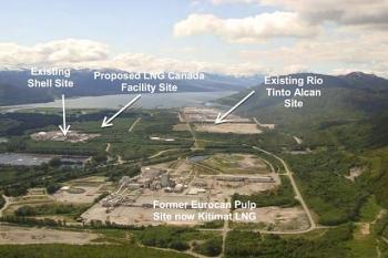 Shell khởi động dự án LNG khổng lồ ở Canada