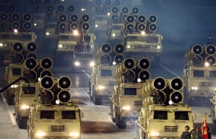 Triều Tiên phô diễn phiên bản S-400 sao chép của Nga