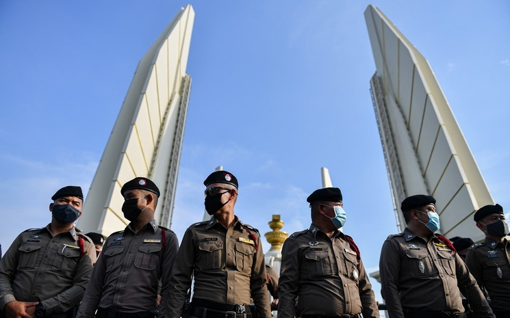 Thái Lan ban bố tình trạng khẩn cấp ở Bangkok
