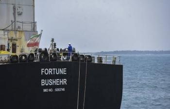 Bán dầu tịch thu của Iran, Mỹ thu được hơn 40 triệu USD
