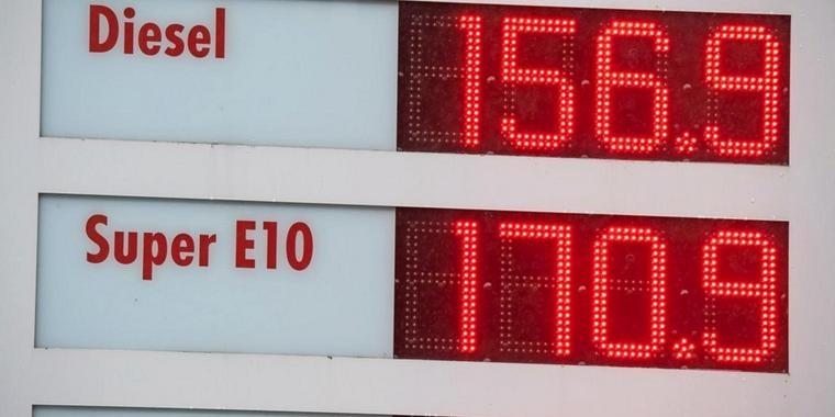 Giá dầu diesel tại Đức đạt mức cao kỷ lục