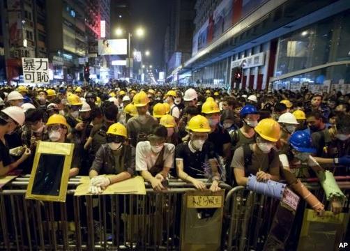 Người biểu tình Hongkong sẽ kéo đến Bắc Kinh?