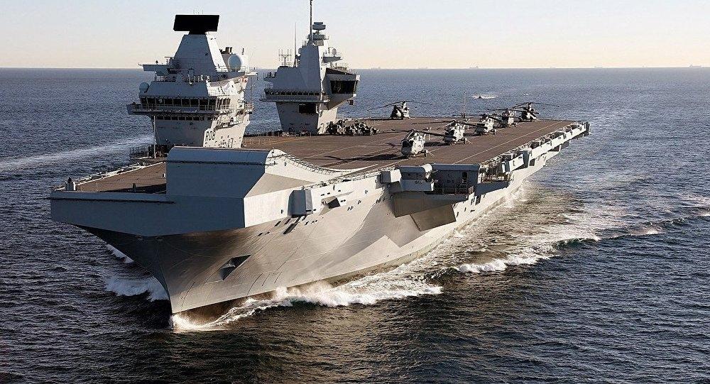 Tàu sân bay đắt nhất của Hải quân Hoàng gia Anh
