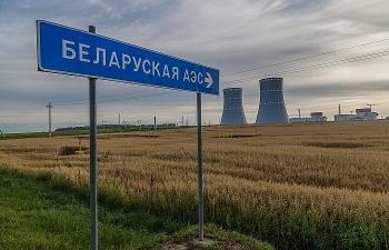Belarus vận hành nhà máy điện hạt nhân đầu tiên do Nga xây dựng và tài trợ