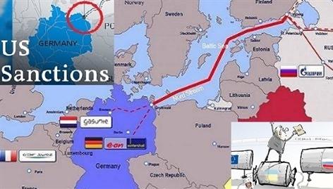 Mỹ đạt thỏa thuận trừng phạt bổ sung Nord Stream 2