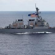 """Tàu chiến Mỹ """"dám"""" thăm dò thành trì của hạm đội Nga trên biển Thái Bình Dương"""