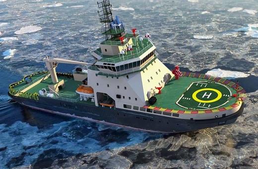 Tàu phá băng Nga khai phá tài nguyên Bắc cực