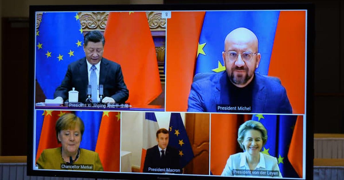 """Trung Quốc - EU đạt thỏa thuận """"tham vọng"""" trước khi ông Biden nhậm chức"""