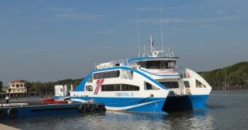 Phà biển chính thức hoạt động, từ TP HCM đi Vũng Tàu chỉ 30 phút