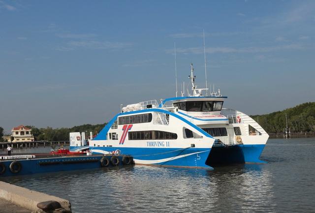 Phà biển chính thức hoạt động, từ TPHCM đi Vũng Tàu chỉ 30 phút - 1