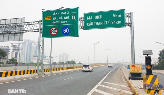 Thông xe cầu Thăng Long, kết nối xuyên suốt đường trên cao đẹp nhất Hà Nội - 9