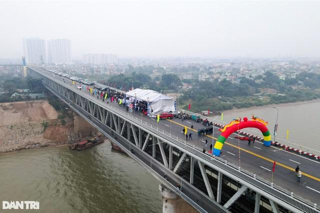 Thông xe cầu Thăng Long, kết nối xuyên suốt đường trên cao đẹp nhất Hà Nội - 4