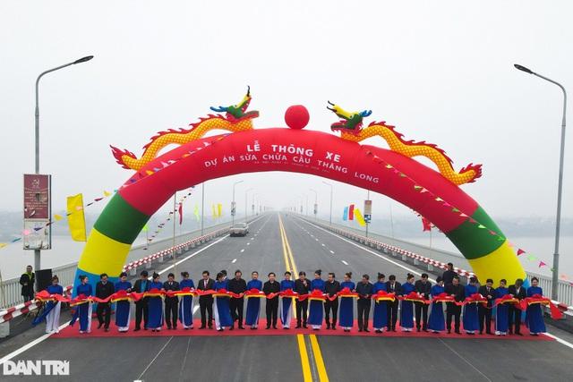 Thông xe cầu Thăng Long, kết nối xuyên suốt đường trên cao đẹp nhất Hà Nội - 2