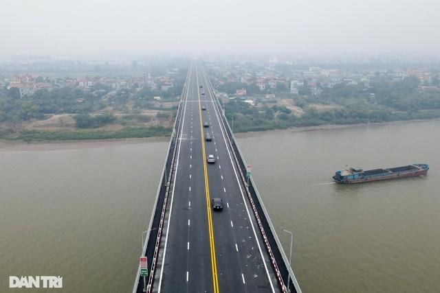 Thông xe cầu Thăng Long, kết nối xuyên suốt đường trên cao đẹp nhất Hà Nội - 7