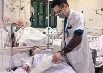 Giáp Tết, nhiều trường hợp chấn thương nặng do pháo tự chế phát nổ