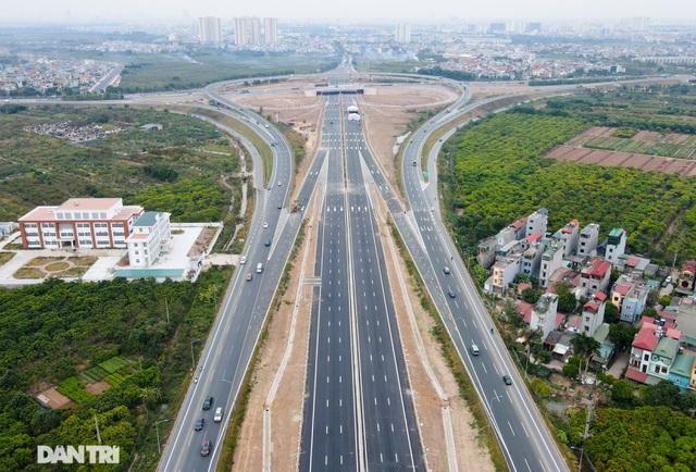 Thông xe nút giao 400 tỷ đồng nối cao tốc Hà Nội - Hải Phòng với Vành đai 3 - 3