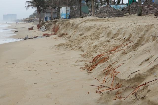 Bờ biển Đà Nẵng sạt lở kinh hoàng, đe dọa nhiều khu nghỉ dưỡng - 3