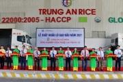 Phát lệnh xuất khẩu lô gạo đầu tiên của năm 2021