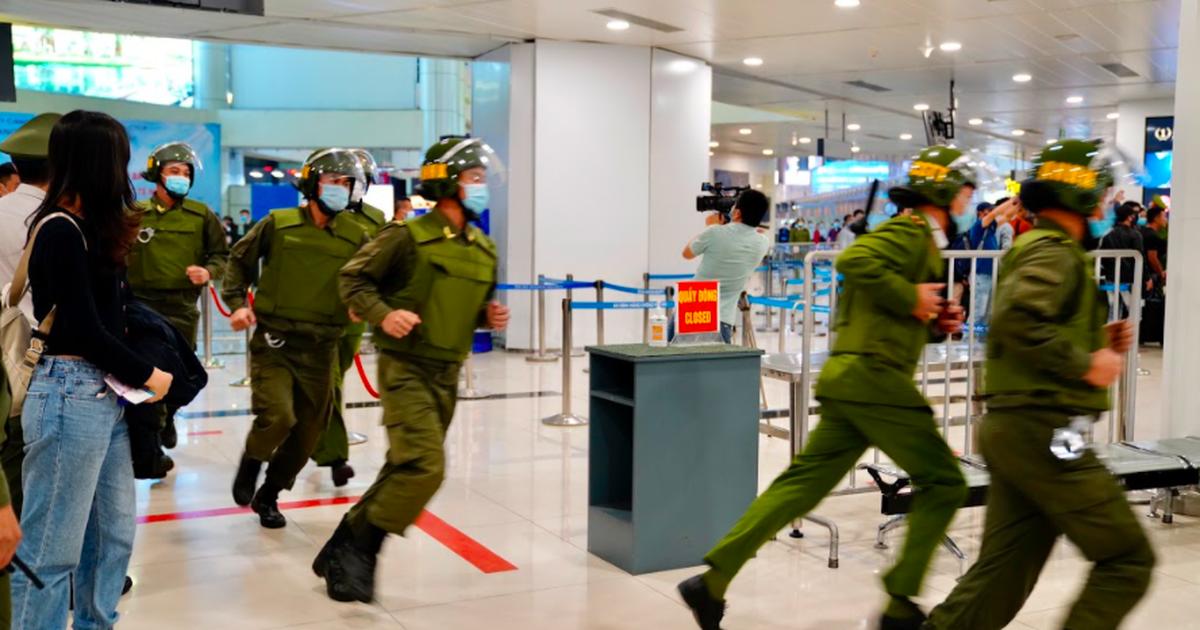 Tăng cấp độ kiểm soát an ninh hàng không trong dịp Đại hội Đảng