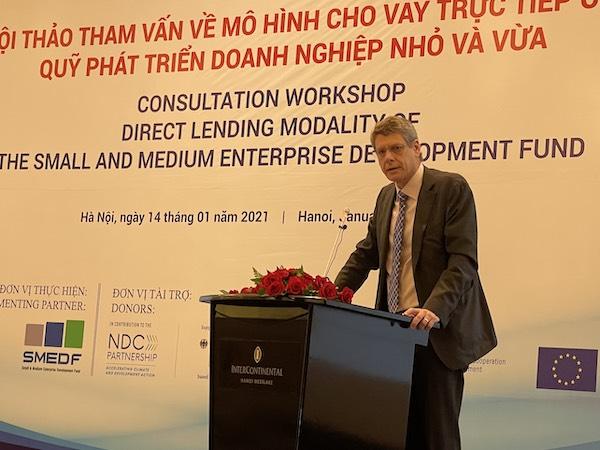 Ông Jonathan Pincus, Cố vấn kinh tế Chương trình Phát triển Liên hợp quốc (UNDP) tại Việt Nam